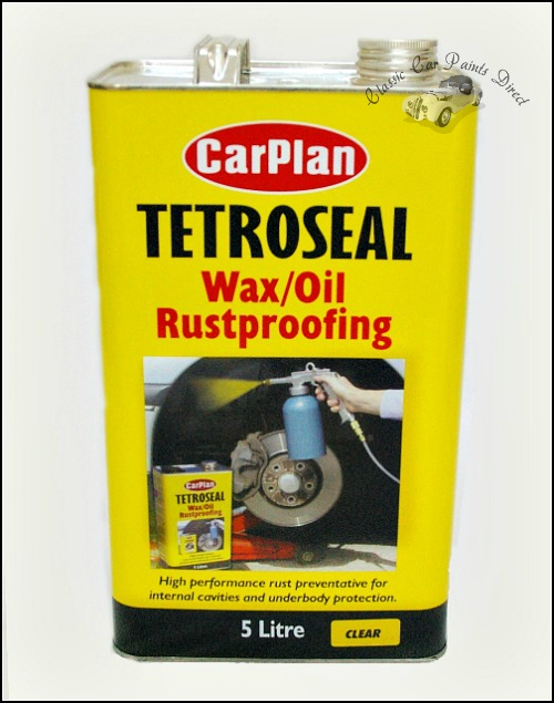 tetroseal wax/oil rustproofing