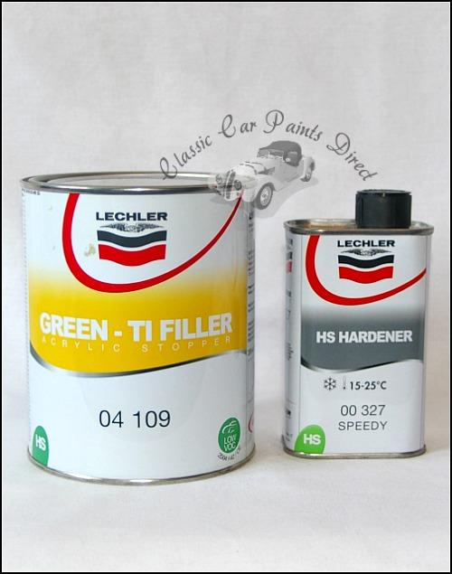 Lechler Green TI Filler & HS Hardener