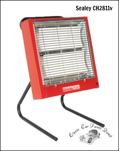 Sealey Ceramic Heater 110v
