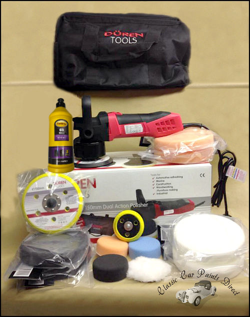 Duren Dual Action Polisher Starter Kit