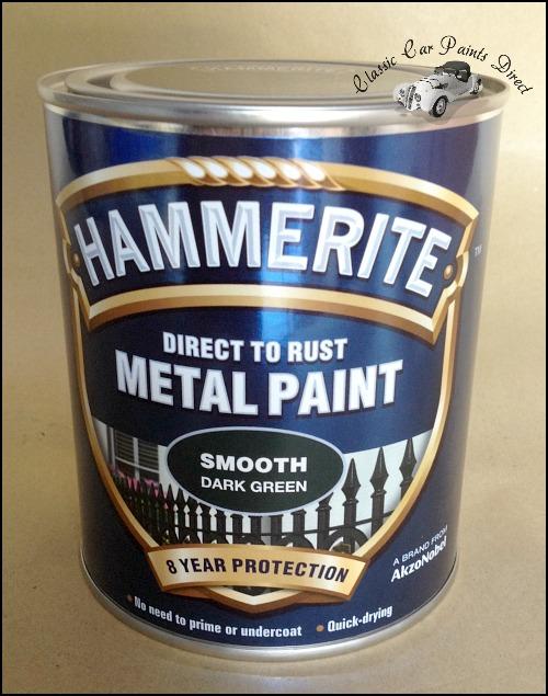 Hammerite Metal Paint 750ml Smooth Dark Green