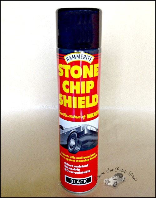 Hammerite Black Stonechip 600ml