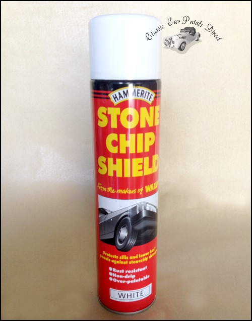 Hammerite White Stonechip Shield 600ml