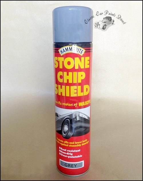 Hammerite Grey Stonechip Shield 600ml