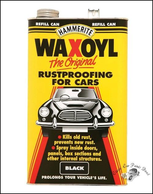Waxoyl Original Black 5 litres
