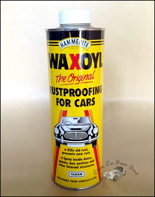 Hammerite Waxoyl Clear 1 litre