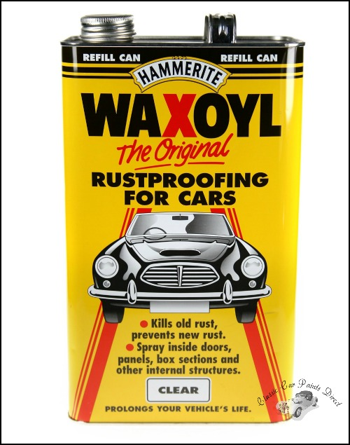 Waxoyl Clear 5 Litres