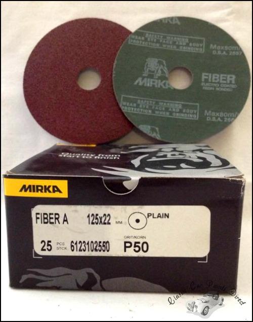 Fiber A Sanding Discs 5 inch P50 grit