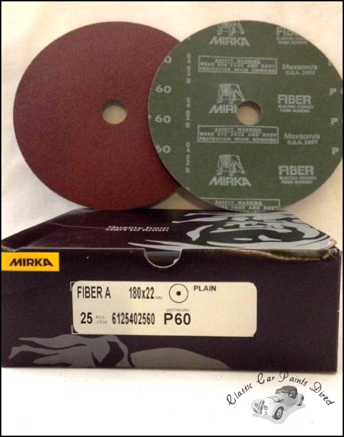 """Fiber A Sanding / Grinding Disc 7"""" P60"""