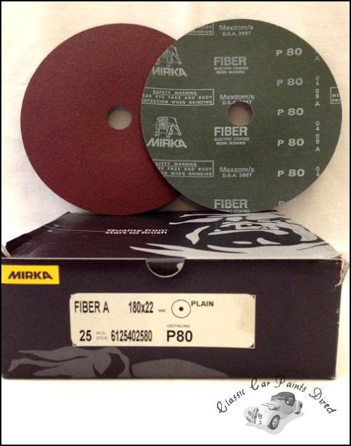 """Fiber A Sanding / Grinding Disc 7"""" P80"""