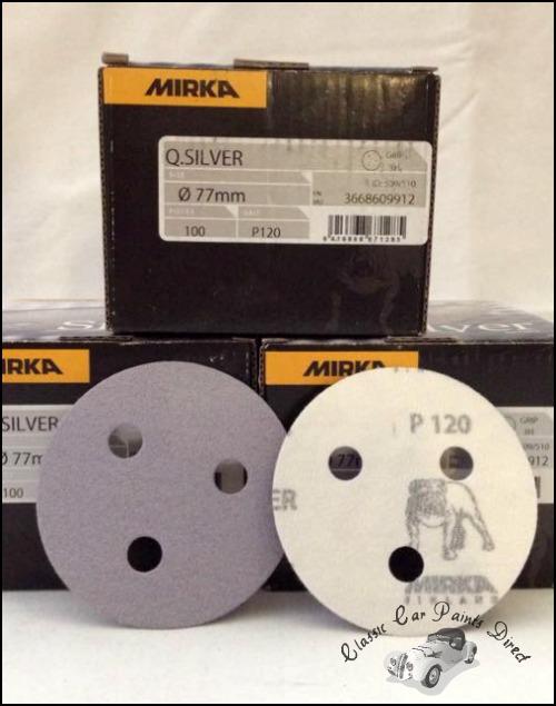 Q-Silver Sanding Discs P120 Grit