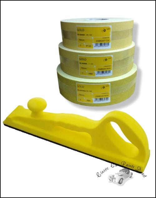 FMT2095 Rigid Sanding Block Kit with Mirka Gold