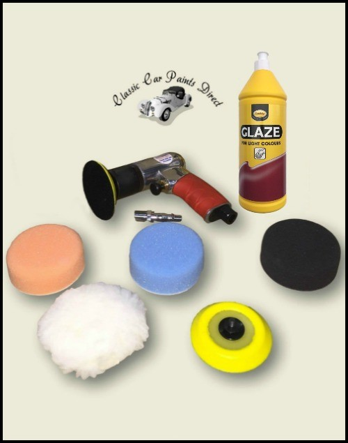 Sealey Air Polisher Kit