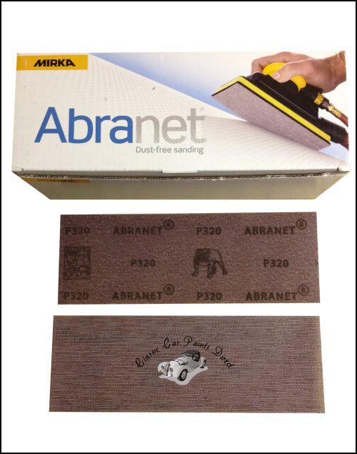 Mirka Abranet Sanding Strips 70mm x 198mm - P320