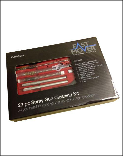 23 Piece Spray gun cleaning kit