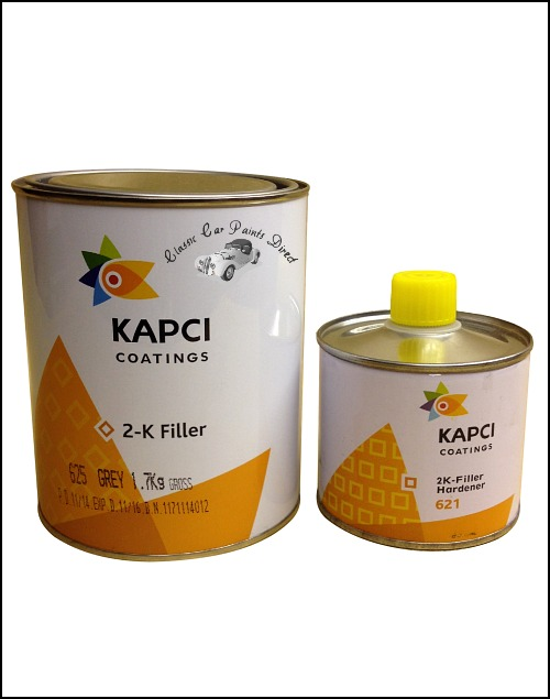 2k Filler Kit - Kapci 1 Litre
