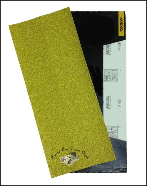 Mirka Gold E Sanding Sheets P40