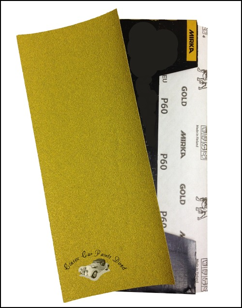 Mirka Gold Sanding Sheets P60
