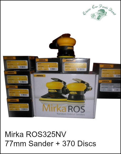 Mirka Air Sanding Kit with Discs