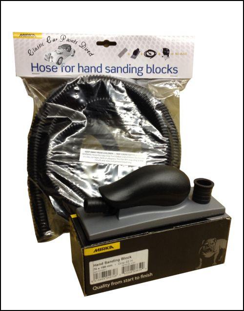 Mirka 8391502011 Hand Sanding Block with Hose