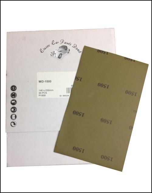 Mirka Wet & Dry Sanding Sheets P1500 Grit