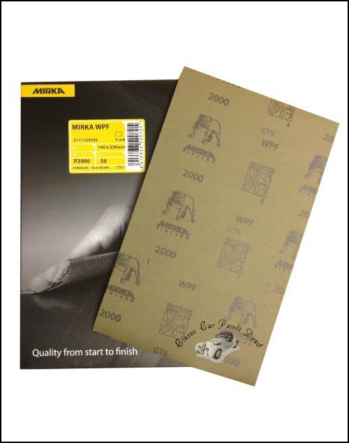 Mirka Wet & Dry Sanding Sheets P2000